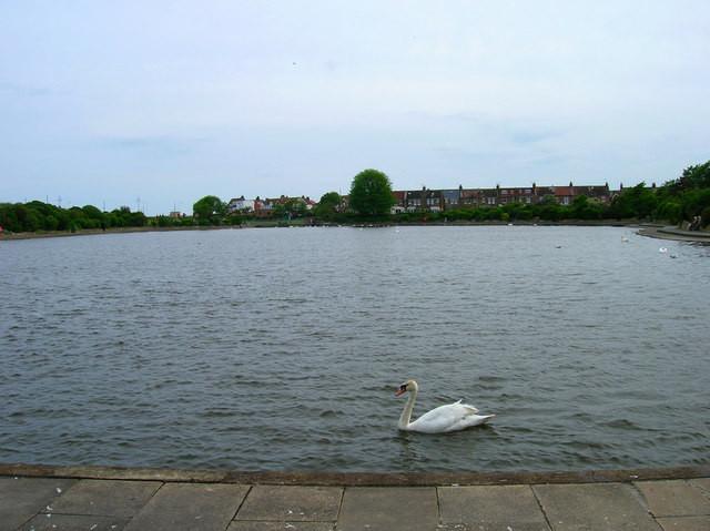 Crumbles Pond, Princes Park, Eastbourne