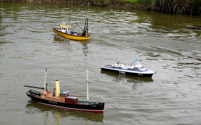 Three members boats